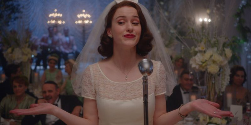 Press: 'Marvelous Mrs. Maisel' Star Rachel Brosnahan Talks Season 2 Pressure And Excitement