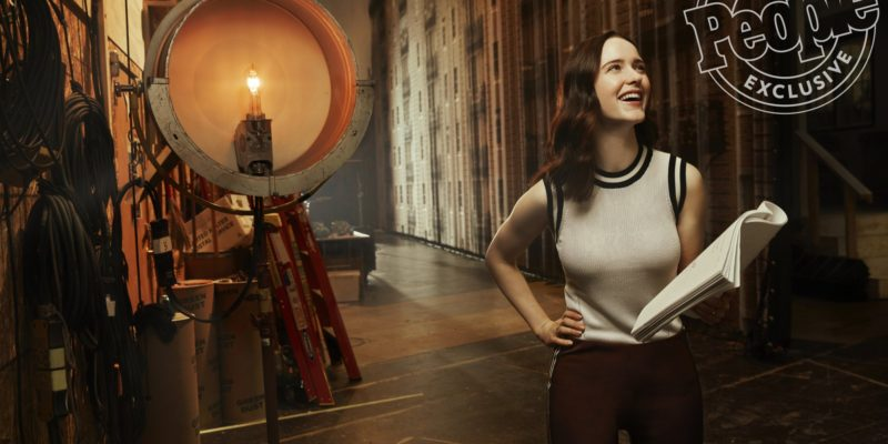 Press/Videos/Photos: Rachel Brosnahan Once Received Career Advice Involving a Drone and a Lightning Storm