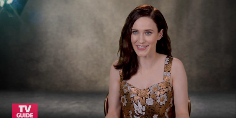 Press/Video: Best Performances: How Rachel Brosnahan Nailed The Marvelous Mrs. Maisel's Perfect Set