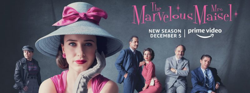 "Press: AP names ""The Marvelous Mrs. Maisel"" its top TV show of 2018"