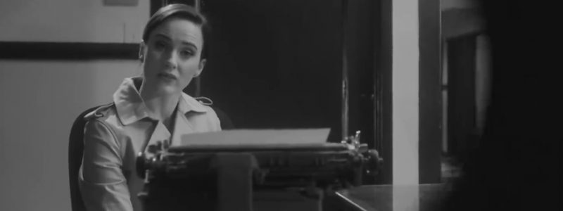 Press/Video/Photos: Rachel Brosnahan Goes Noir In New 'Saturday Night Live' Promo